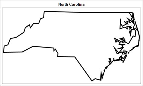 How To Draw The Outline Of Carolina by Simple Maps Can Go A Way Graphically Speaking