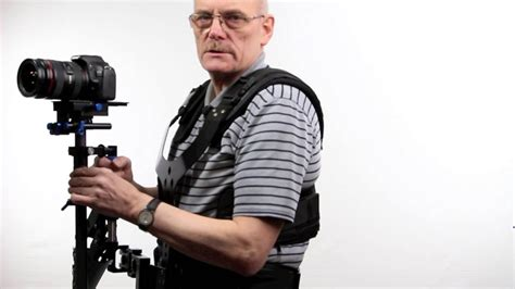 stedy cam stabilser vest for steadycam with steadicam for dslr video