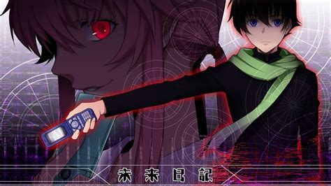 the future diary mirai wallpapers wallpaper cave