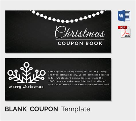 template promo code blank coupon templates 26 free psd word eps jpeg