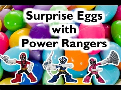 Terbaik Egg Justice League Power Rangers eggs with power rangers kinder egg with batman by epic