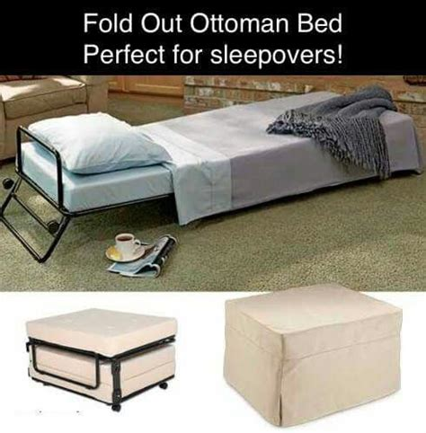 small space ottoman fold out bed fold out ottoman bed single neato