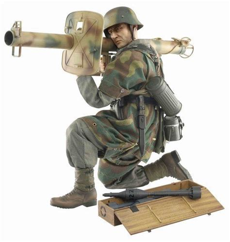 Figure 1 6 Tontenkopf Division German Army Ww2 1 6 scale wwii 12 quot german soldier hugo hartwig with