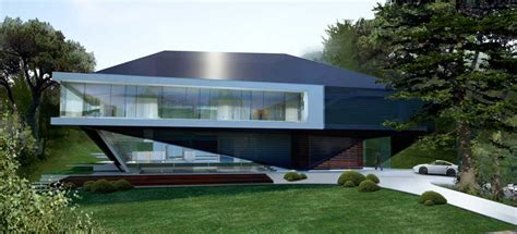 modern home design germany hillside house german home by 3deluxe in exterior e