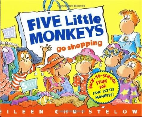 libro five little monkeys jumping 17 best images about back to on