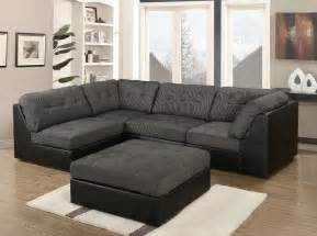 Brown Leather Armchairs For Sale Grey Amp Black Fabric Material Sectional Corner Sofa Suite