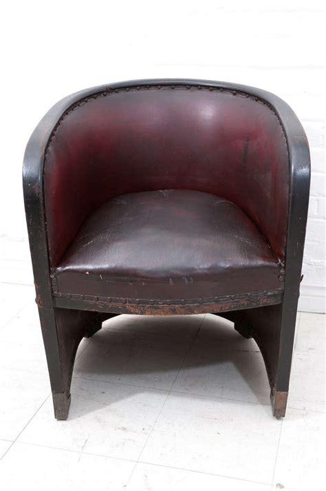 barrel armchair josef hoffmann 1870 1956 barrel armchair at 1stdibs