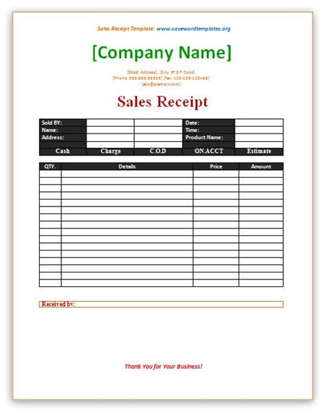 printable mary kay receipt sales receipt template http www savewordtemplates org