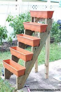 Vertical Garden Box Diy Vertical Planter Garden