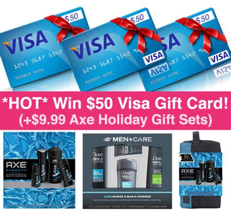 What Name Do I Use For Visa Gift Card - hot win 50 visa gift card walmart axe fsf exclusive giveaway
