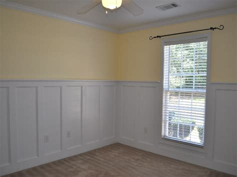 how tall should wainscoting be crown moulding styles dining room wainscoting craftsman