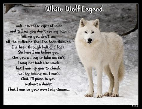 white wolf legend by littledeer07 on deviantart