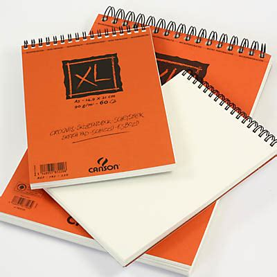 sketchbook canson xl canson xl spiral sketch pad drawing papers in spiral