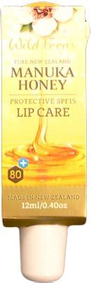 Regene Honey Lip Balm 12ml ferns manuka honey skin care