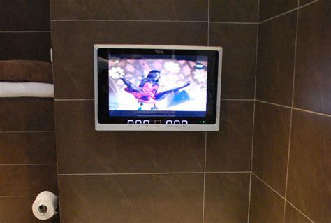 wasserdichte badezimmer tv auch kabellos splashvision - Badezimmer Tv