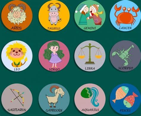 zodiac sign vector  vector    vector