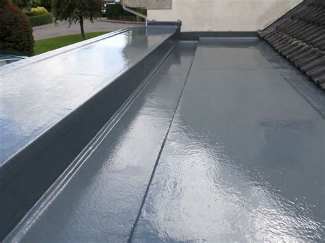 fibreglass flat roofing in grp grp fibreglass roof installations four seasons roofing