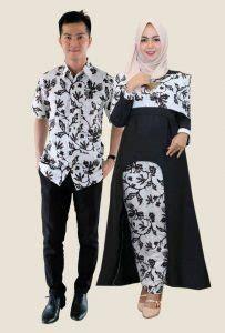 Stelan Kebaya Kutubaru Princess Elektrik batik sarimbit gamis dan dress hem batik pesan jahit batik