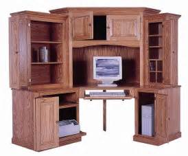 L Shaped Bookcase Furniture Gt Office Furniture Gt Corner Hutch Gt Amish Corner