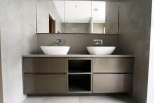 fitted bathroom furniture in bespoke bathroom