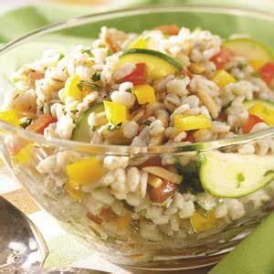 veggie barley salad recipe taste of home