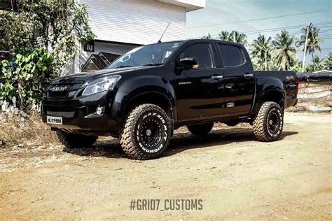 isuzu dmax lifted customised isuzu d max v cross looks like a monster