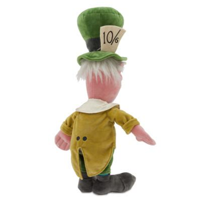 the mad toy mad hatter medium soft toy alice in wonderland