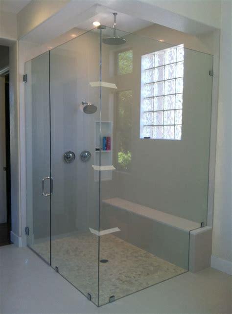 door frame frameless shower door