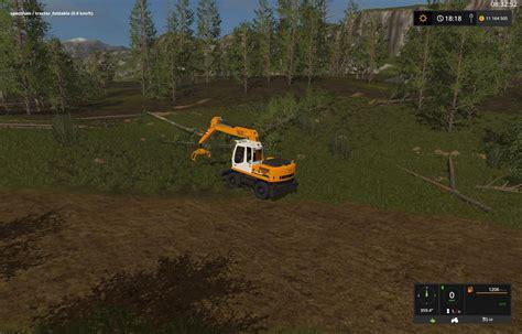 liebherr 900 c v1 for ls 17 farming simulator 2017 fs ls mod