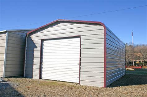 one car carport one car garage kit prefab carports