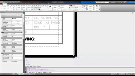 download layout templates autocad autocad title block insert and scale to fit layout youtube