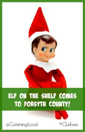 When Does On A Shelf Come by On The Shelf Comes To Forsyth County