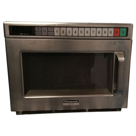 Microwave Panasonic Low Watt used commercial microwave panasonic ne 1856 1800 watt