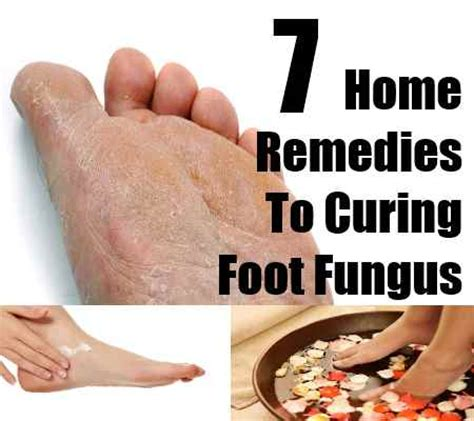 7 effective home remedies for curing foot fungus