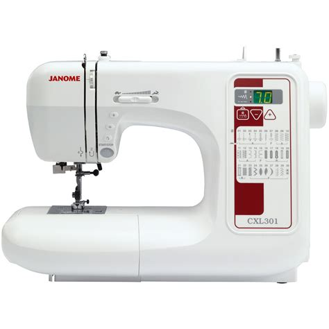 swing machines janome cxl301 sewing machine sew essential