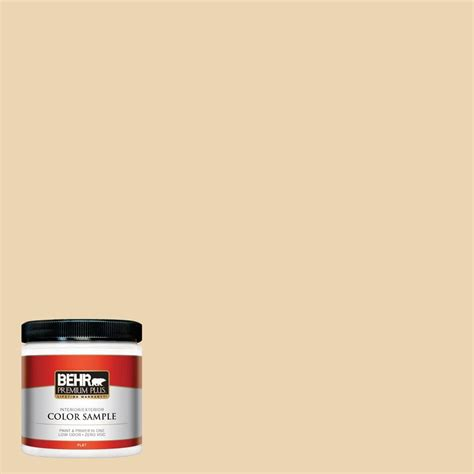behr premium plus 8 oz 750c 2 hazelnut interior exterior paint sle 750c 2pp the