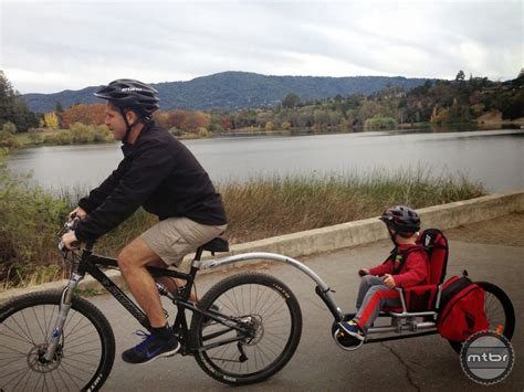 child seat for trail a bike bike trailer with car seat attachment bicycling and the