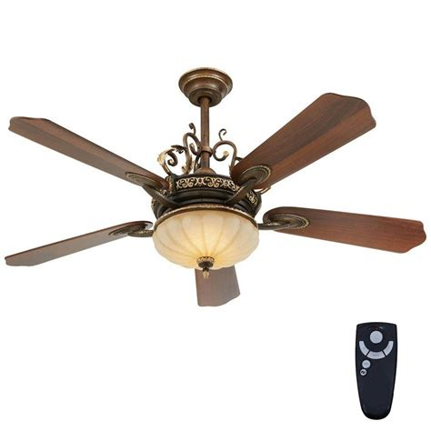 52 ceiling fan with light and remote home decorators collection chateau 52 in