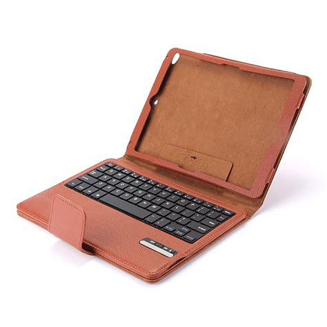 5 Leather Keyboard Bluetooth Ipad5 Air Berkualitas bluetooth abs keyboard separated leather for 5 air
