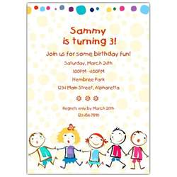 cheerful birthday invitations paperstyle