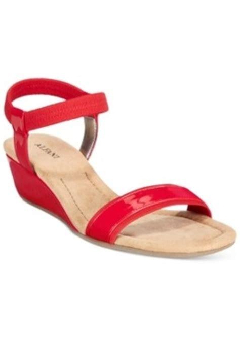 macys womens sandals alfani alfani s veye demi wedge sandals only at