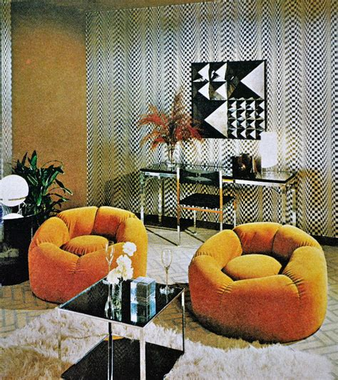 70s decor scanning around with gene the shagadelic seventies