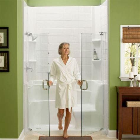 american safety bath and shower american standard 3060sh rw 30 inch by 60 inch by 37 inch seated shower with drain white right