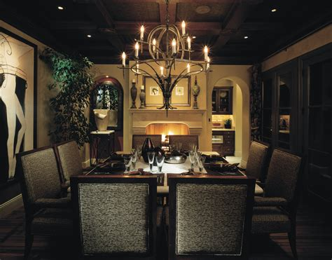 black dining room light fixture