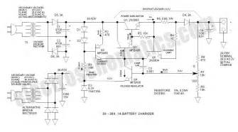 24v to 36v battery charger circuit circuit wiring diagrams