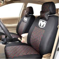 Car Seat Covers For Dodge Journey 4color Silk Breathable Embroidery Logo Customize Car Seat
