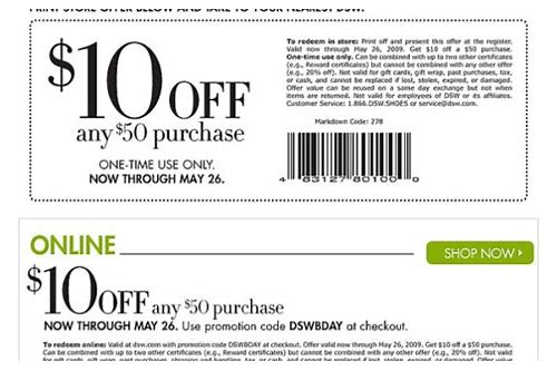 dsw yoga tote coupon