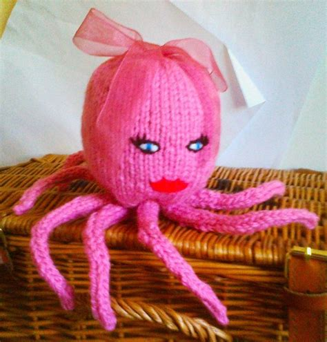 knitted octopus chunky octopus knitting small knitting