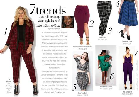 7 Tips For Updating Your Look Style by 7 Plus Size Trends That Will Help You Update Your Look In