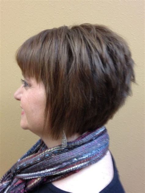 inverted bob hairstytle for older women 12 short hairstyles for round faces women haircuts